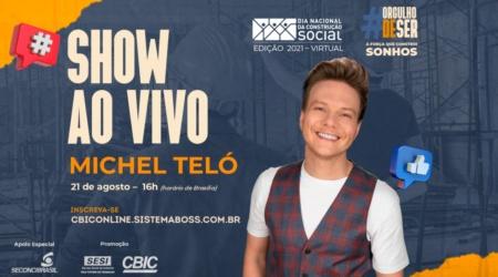 Já garantiu sua vaga no show do Michel Teló no DNCS? Confira o convite!